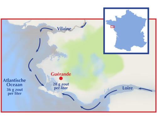 Rivieren bedreigen Keltisch zeezout