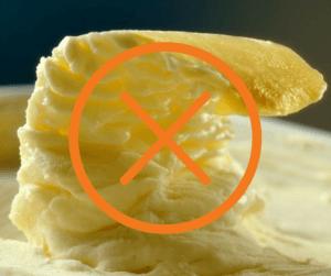 Vervang margarine voor gezonde vetten als kokosolie en olijfolie