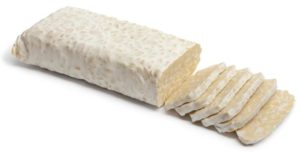 Tempeh is fermented soy