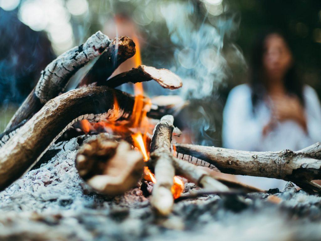Vuur als één van 5 elementen uit de Chinese wijsheid.