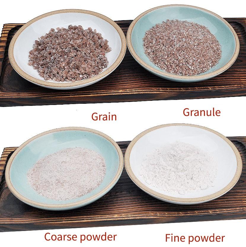 Verschillende types bamboezout voor de 6 belangrijkste functies van zout voor je lichaam.