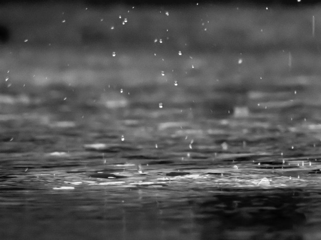 l'eau de pluie ne convient pas pour se laver