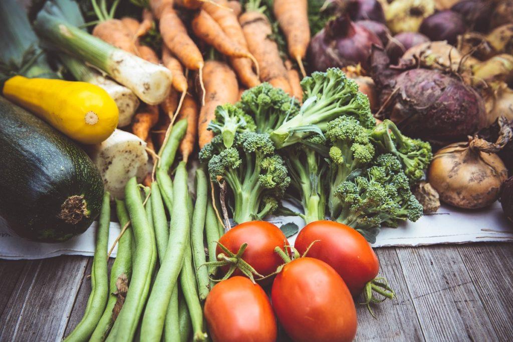 Les légumes regorgent de vitamine C.